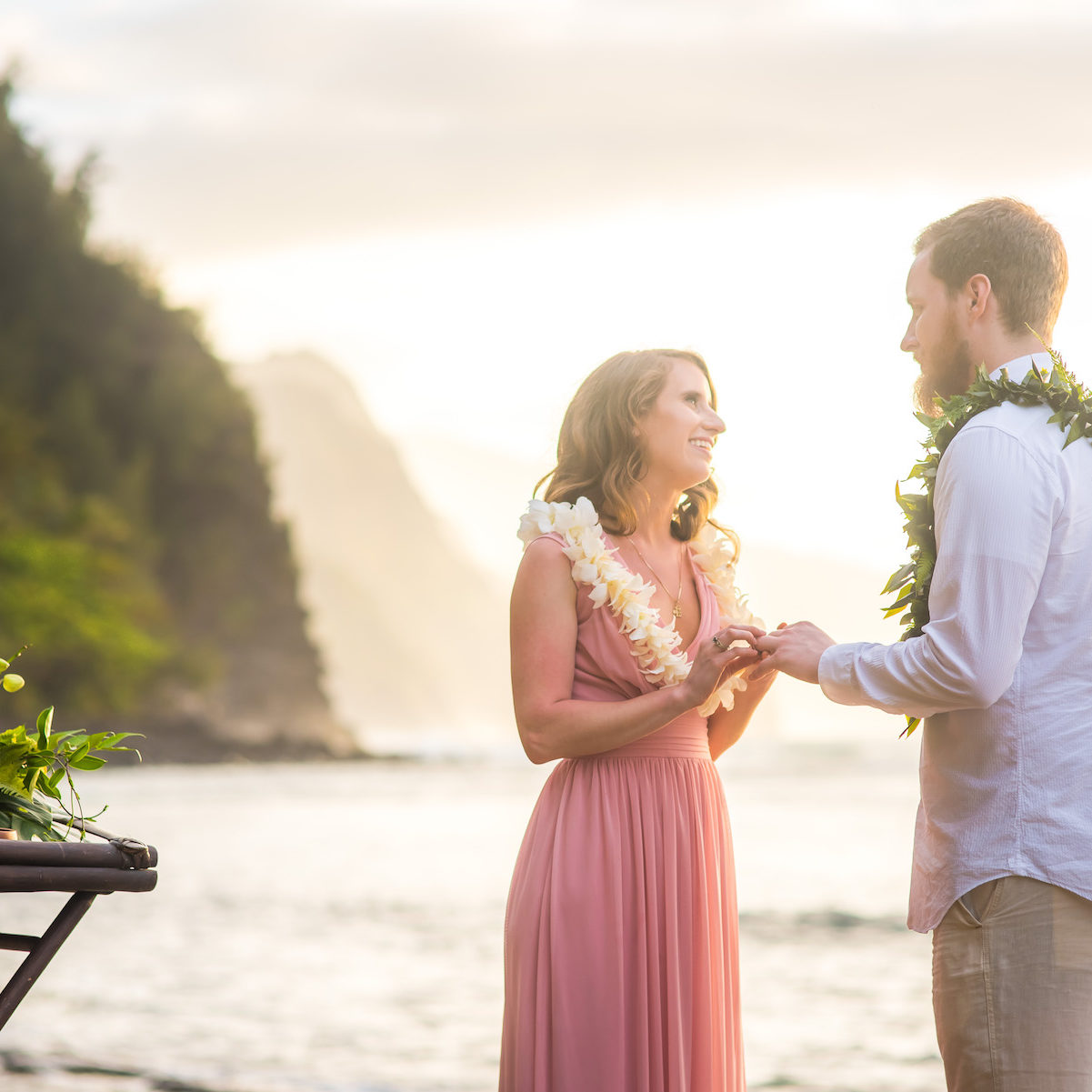 Intimate Elopement Wedding on Kauai