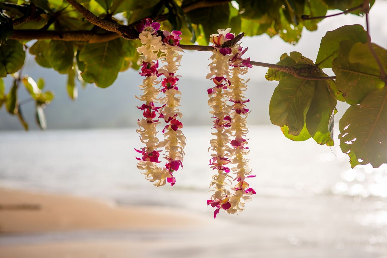 Hawaiian Leis Wedding Flowers
