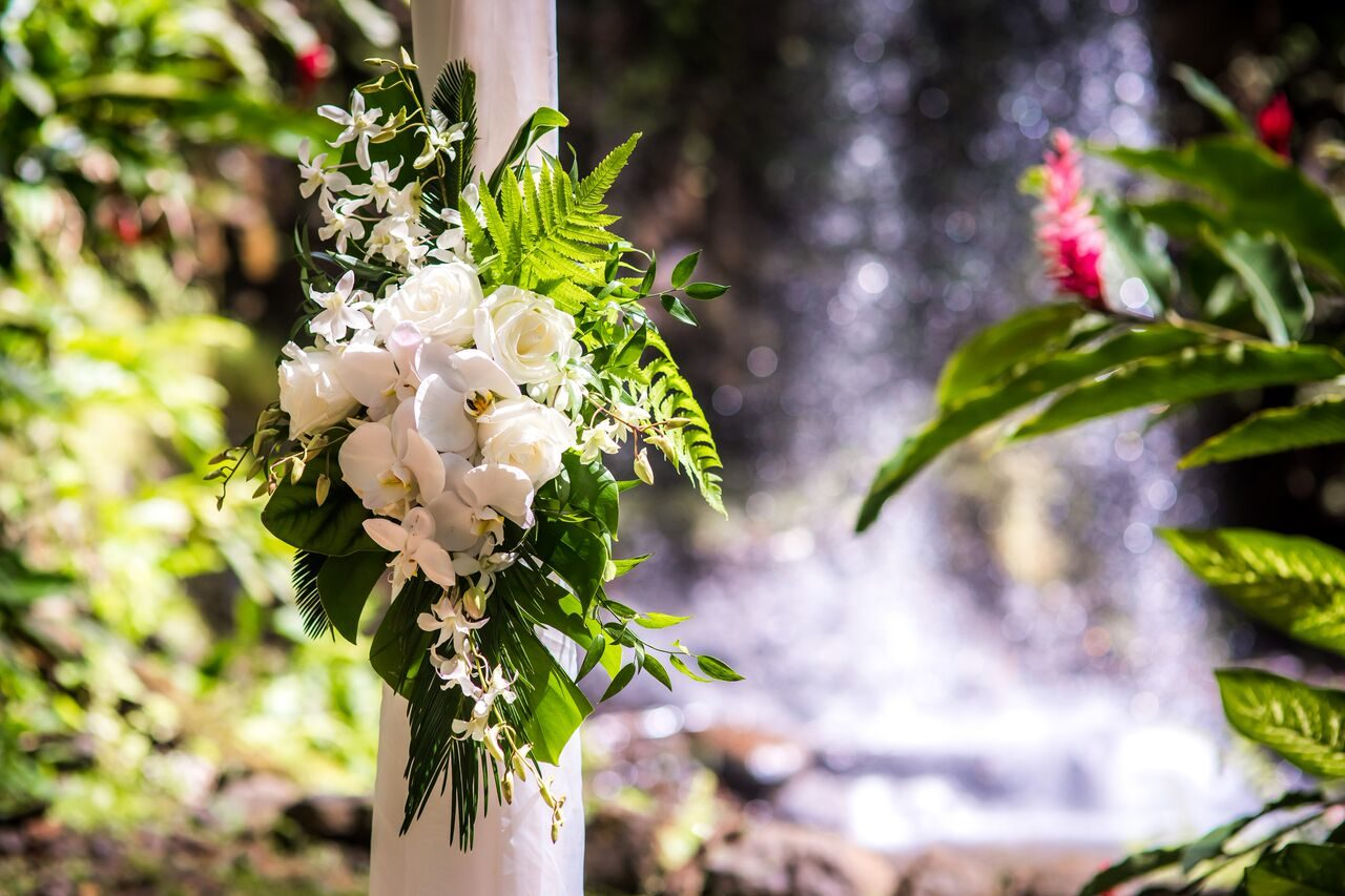 Ceremony Flowers Alii Kauai Weddings