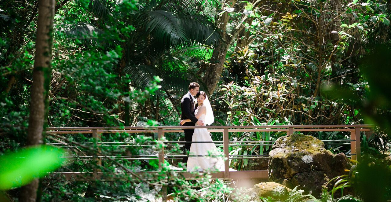 Jungle Wedding on Kauai