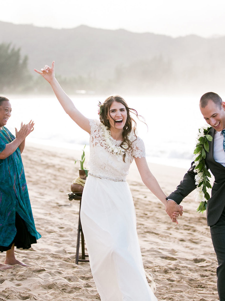 Kauai Beach Wedding Celebration
