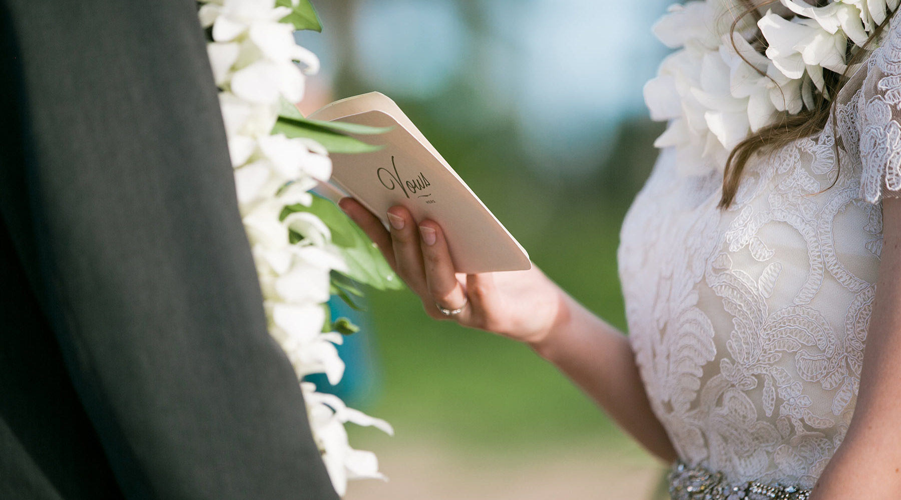 The intimate details of your Kauai Wedding matter to us!