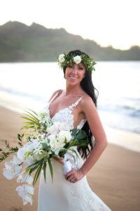 Hanalei Bay Bride