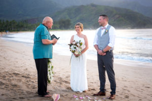 Ceremony at Hanalei Bay
